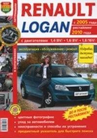 Книга Renault Logan с 05г и с 10г руководство по ремонту ...