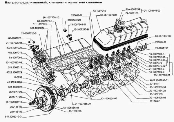 Тарелка пружины клапана ГАЗ-24 Россия ОАО ЗМЗ 24-1007025 ...