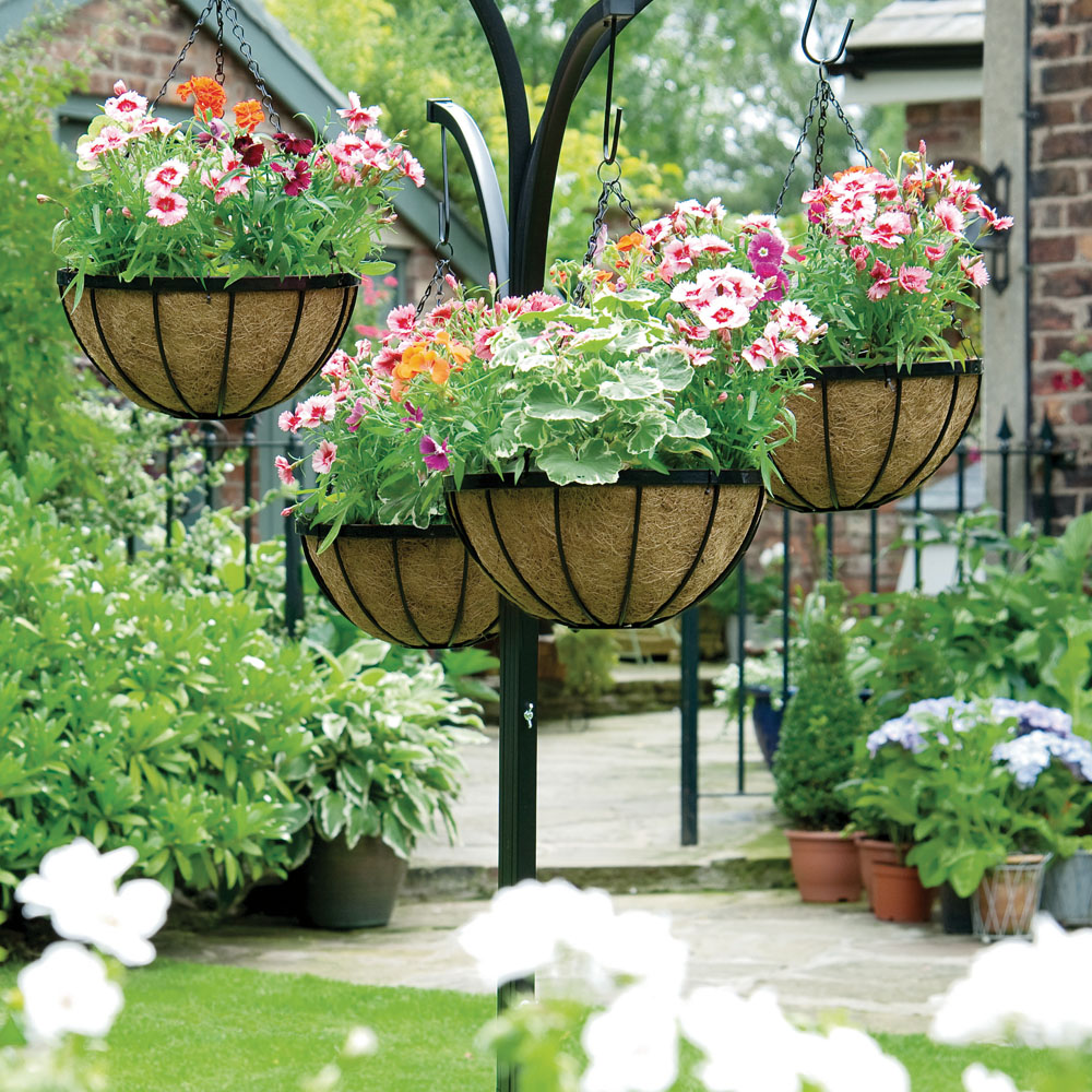 Hanging Flower Baskets: The Only Guide You'll Need on Plant Hanging Ideas  id=42618