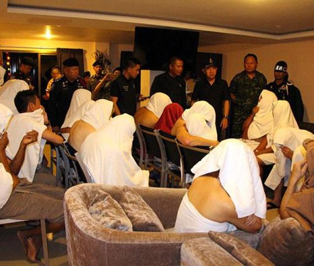 25 Detained At Pattaya Hotels Swingers Party