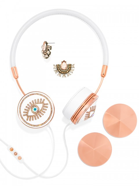 FRENDS x BaubleBar Fortuna Layla Headphones Set-White