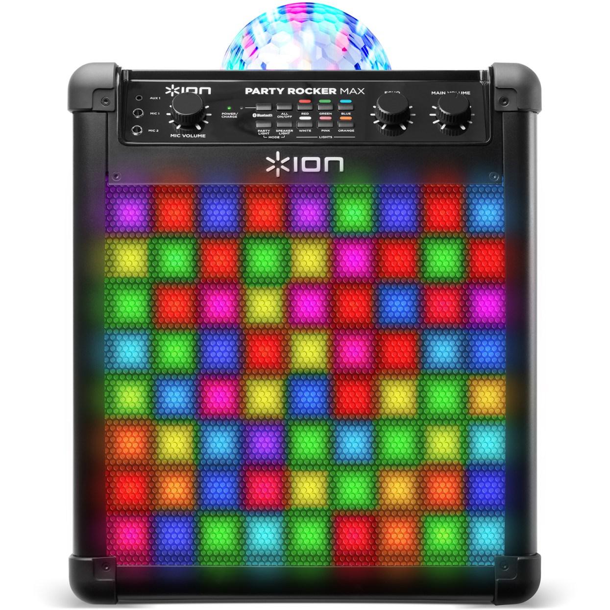 ION Party Rocker Max draadloze luidspreker met lichtshow