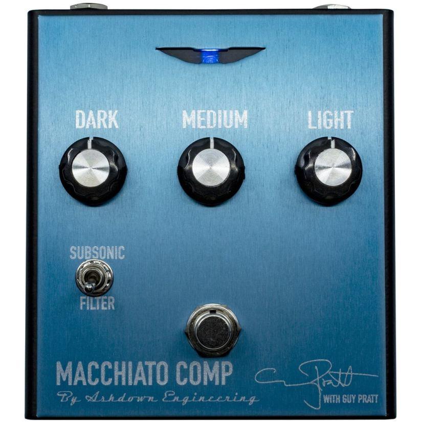 Ashdown Macchiato bass compressor pedal
