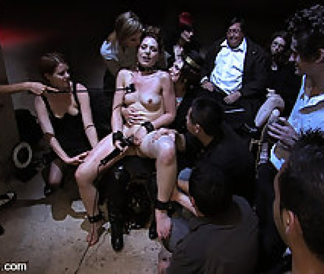 Humiliation Pictures Brand New Girl Gets Her Porn Initiation With Public Disgrace