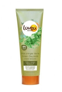 """Résultat de recherche d'images pour """"Lovea, Pâte d'argile verte purifiante, multi-usages"""""""