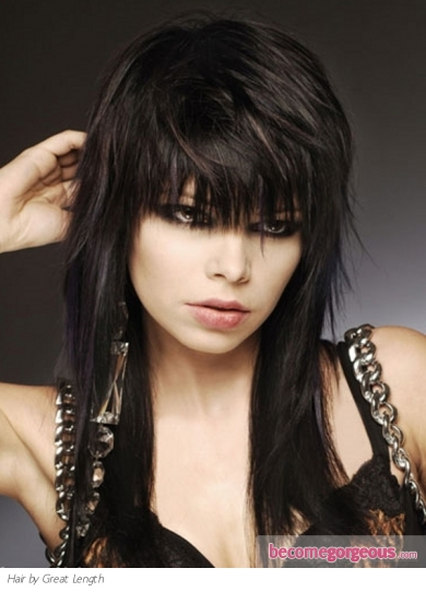 Emo Layered Haircut Makeup Tips And Fashion