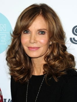 Jaclyn Smith Glossy Brunette Hairstyle | Makeup Tips and Fashion
