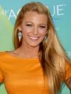 Blake Lively Sleek Half Up Hairstyle