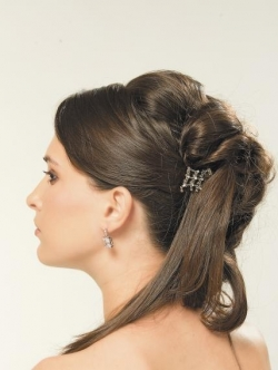 Wedding Loose Updo Hairstyles Makeup Tips And Fashion