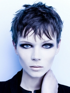 Messy Short Hairstyles Makeup Tips And Fashion