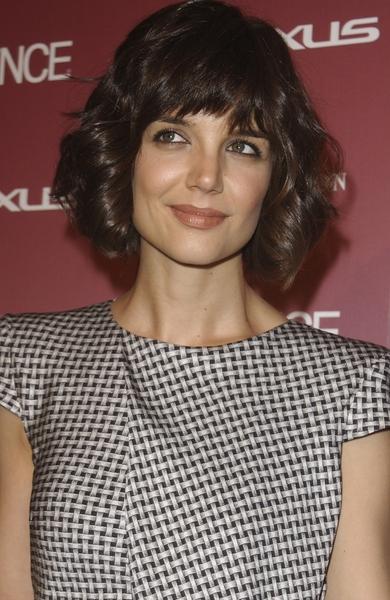 Katie Holmes Hair Style Evolution