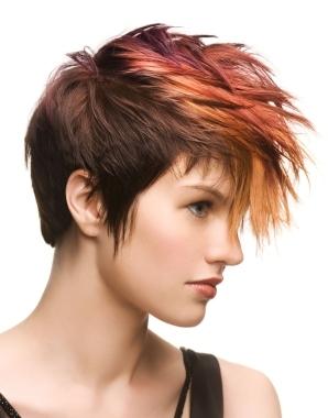 fall dip dye hair color ideas
