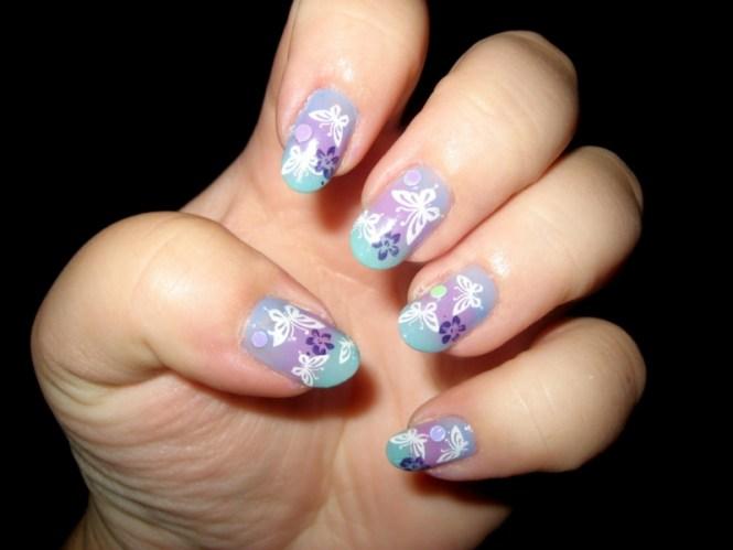 Very Beautiful Fully Amazing Hand Made Nail Art Designs