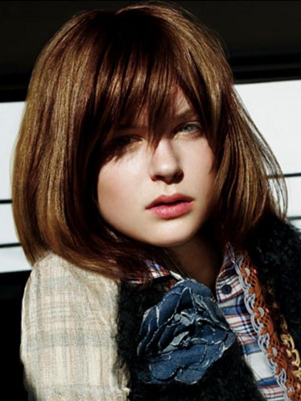 Medium Haircut Trends For Fine Hair