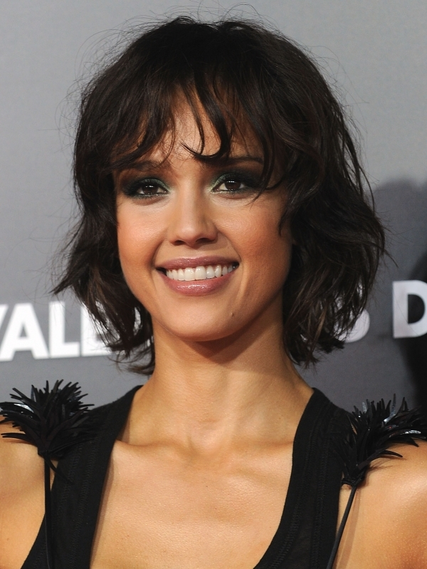 Celebrity Choppy Layered Medium Hairstyles
