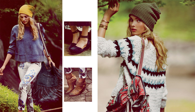 Free People October 2013 Lookbook