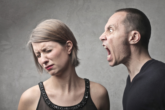 Image result for picture of man shouting at woman