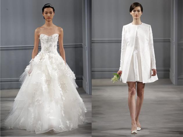 Monique Lhuillier 2014 Wedding Dresses