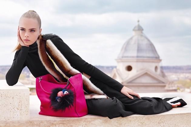 Fendi Fall 2013 Campaign With Cara Delevingne
