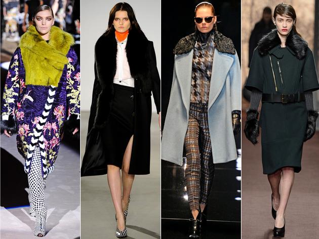 Fur Trim Details Trend