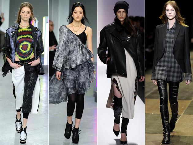 Grunge Layering Fashion