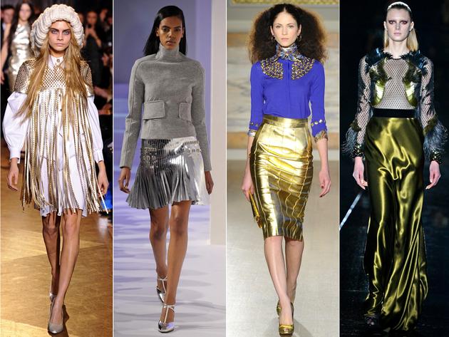 High Shine Metallics Trend