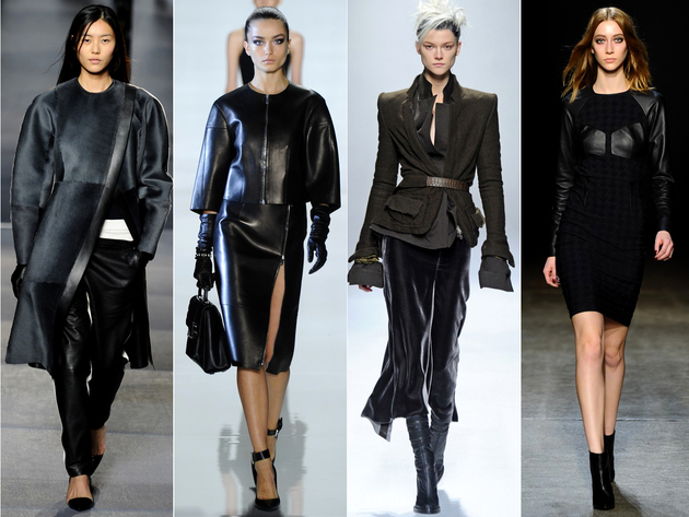 Leather Clothing Trend