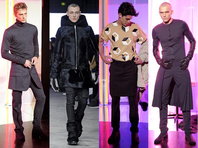 Skirts Menswear Trend Fall 2013