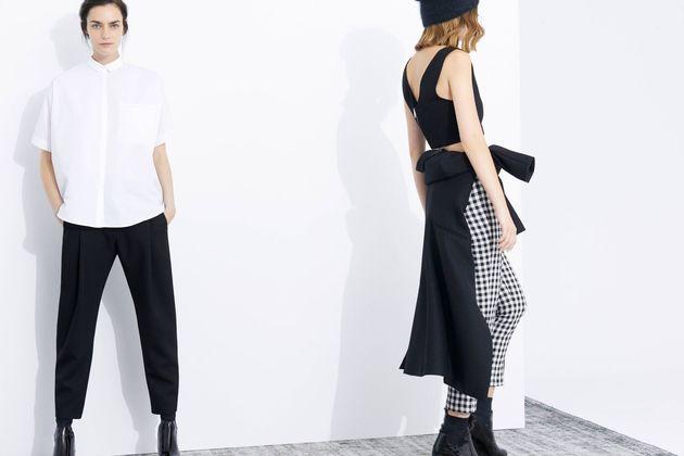 Zara Fall 2013 Trends Monochrome