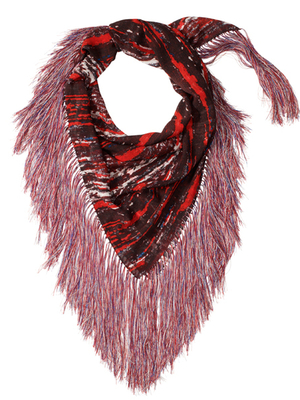 Isabel Marant For Hm Fringe Scarf