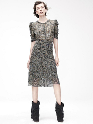 Printed Dress Isabel Marant For Hm