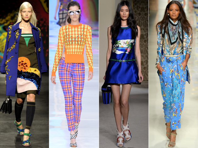 MFW Spring 2014 Trends: Colorful Prints
