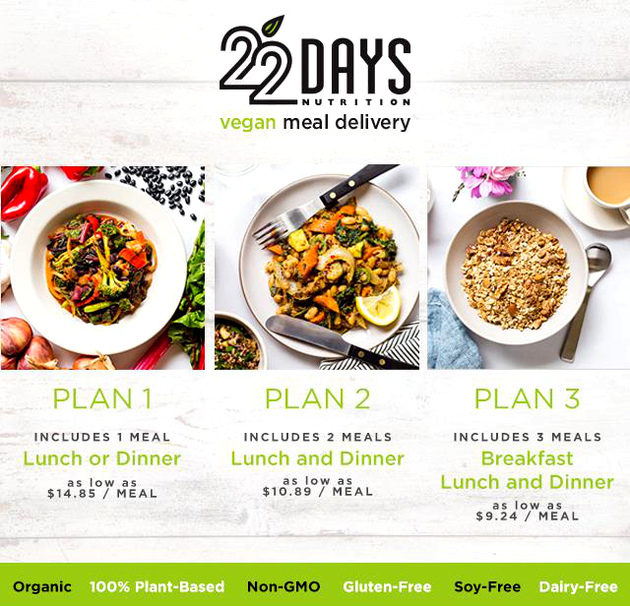 Beyonce Diet 22 Days Nutrition Vegan Home Delivery Meal ...