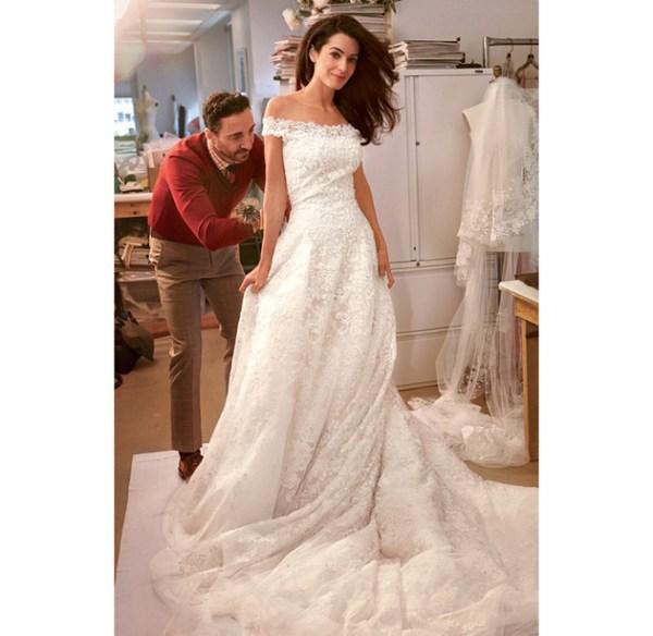Amal Clooney Wedding Gown