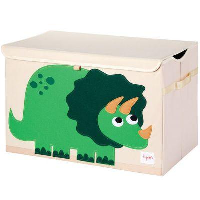 coffre a jouets dinosaure
