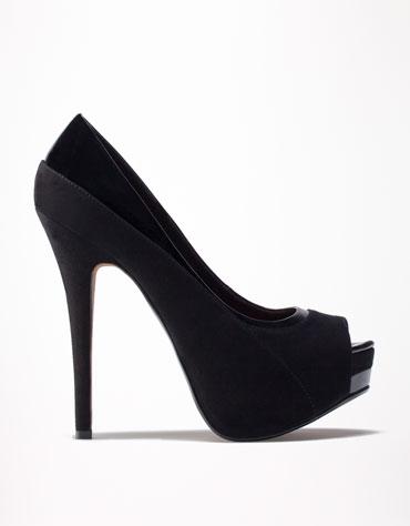 Zapato Peep Toes de Bershka