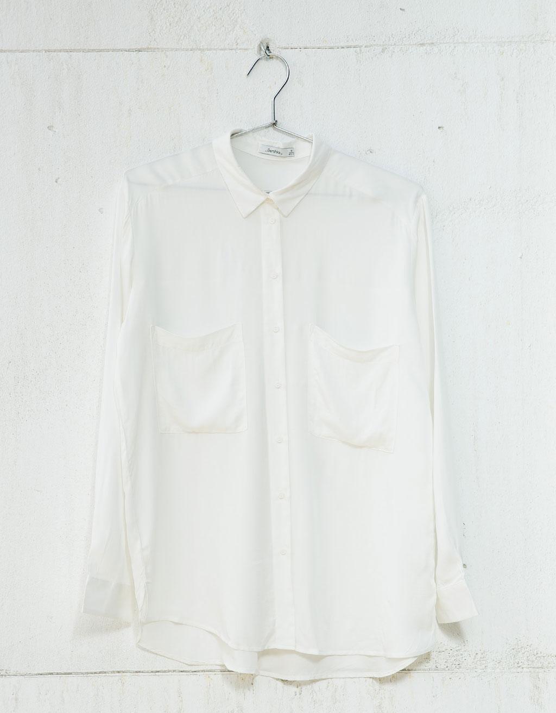 chemise bershka