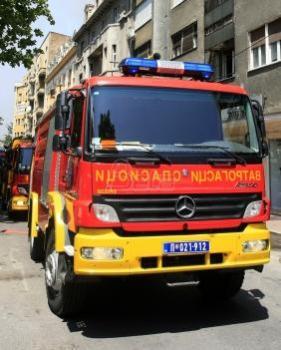 Požar na krovu zgrade kod Palate pravde, nema povredjenih