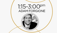 1:15-3:00pm: Adam Forgione