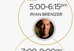 5:00-6:15pm: Ryan Brenizer