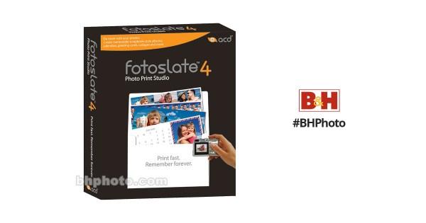 ACD Systems FotoSlate 4 Photo Print Studio Software FS4RTL B&H