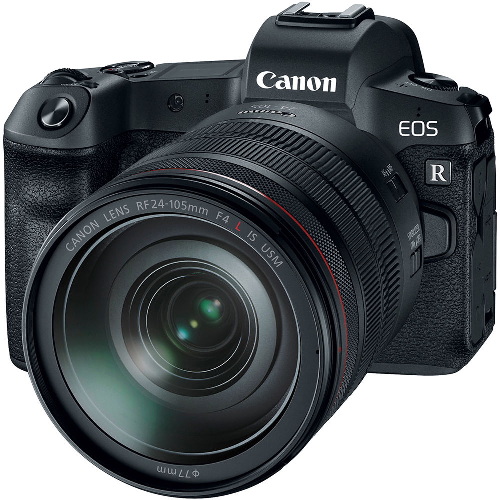 Canon EOS R Mirrorless Digital Camera with 24-105mm f/4L