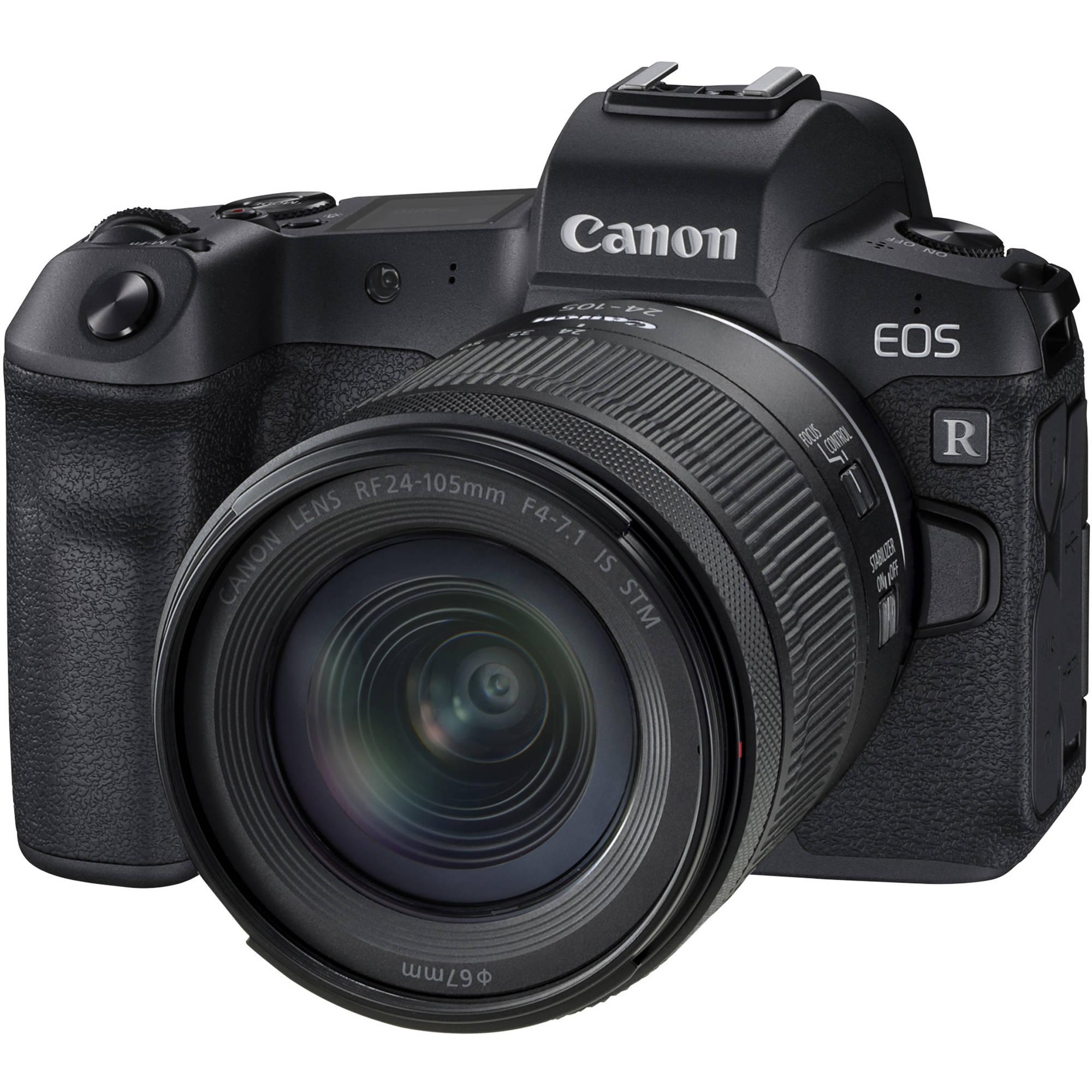 Canon EOS R Mirrorless Digital Camera with 24-105mm 3075C032 B&H