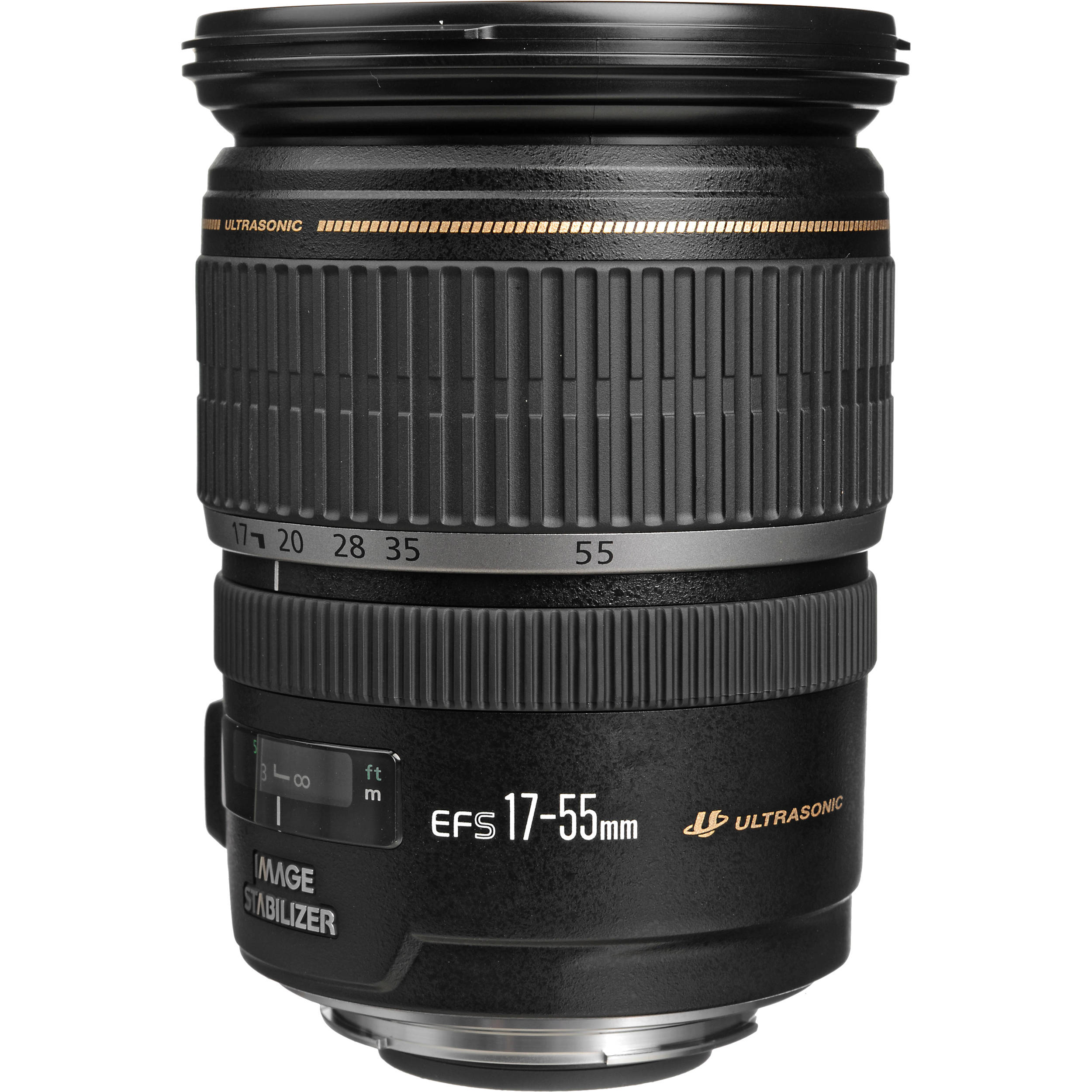 Canon EF-S 17-55mm f/2.8 IS USM Lens 1242B002 B&H Photo Video