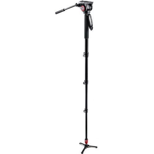 Manfrotto MVM500A Fluid Aluminum Monopod with 500 Head