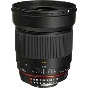 Rokinon 24mm f/1.4 ED AS UMC