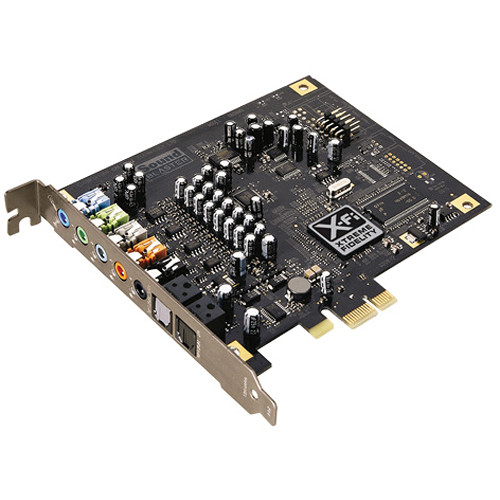 Creative Labs Sound Blaster X-Fi Titanium PCI ...