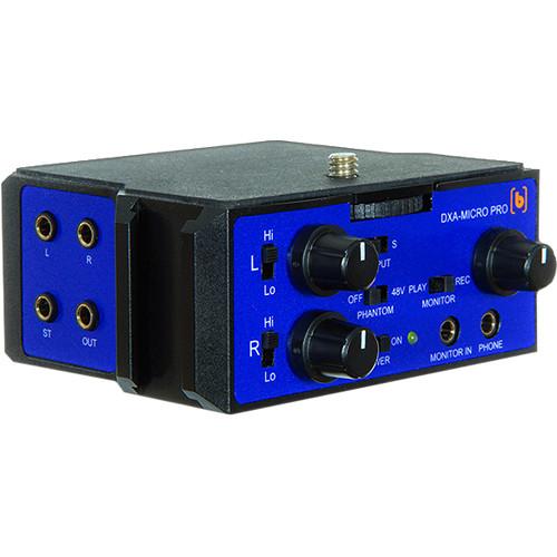 Beachtek Dxa Micro Pro Active Xlr Compact Adapter Dxa