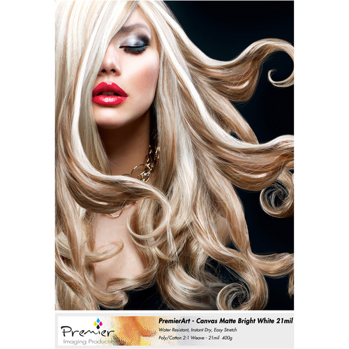 Premier Imaging Canvas Matte Bright White 2995-85112 B&H Photo
