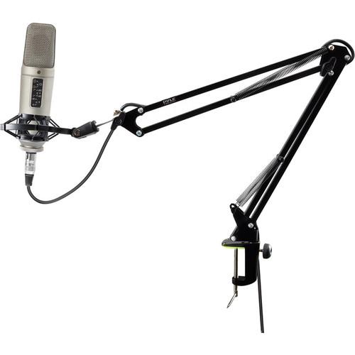 Pyle Pro Suspension Boom Scissor Microphone Stand (2.26')
